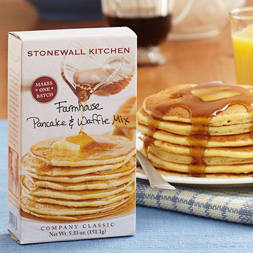 Single Serve Farmhouse Pancake  Waffle Mix  Pancakes