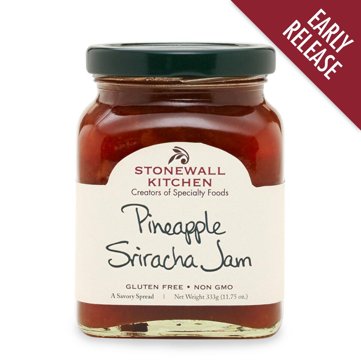 stonewall kitchen jam appliances package pineapple sriracha -