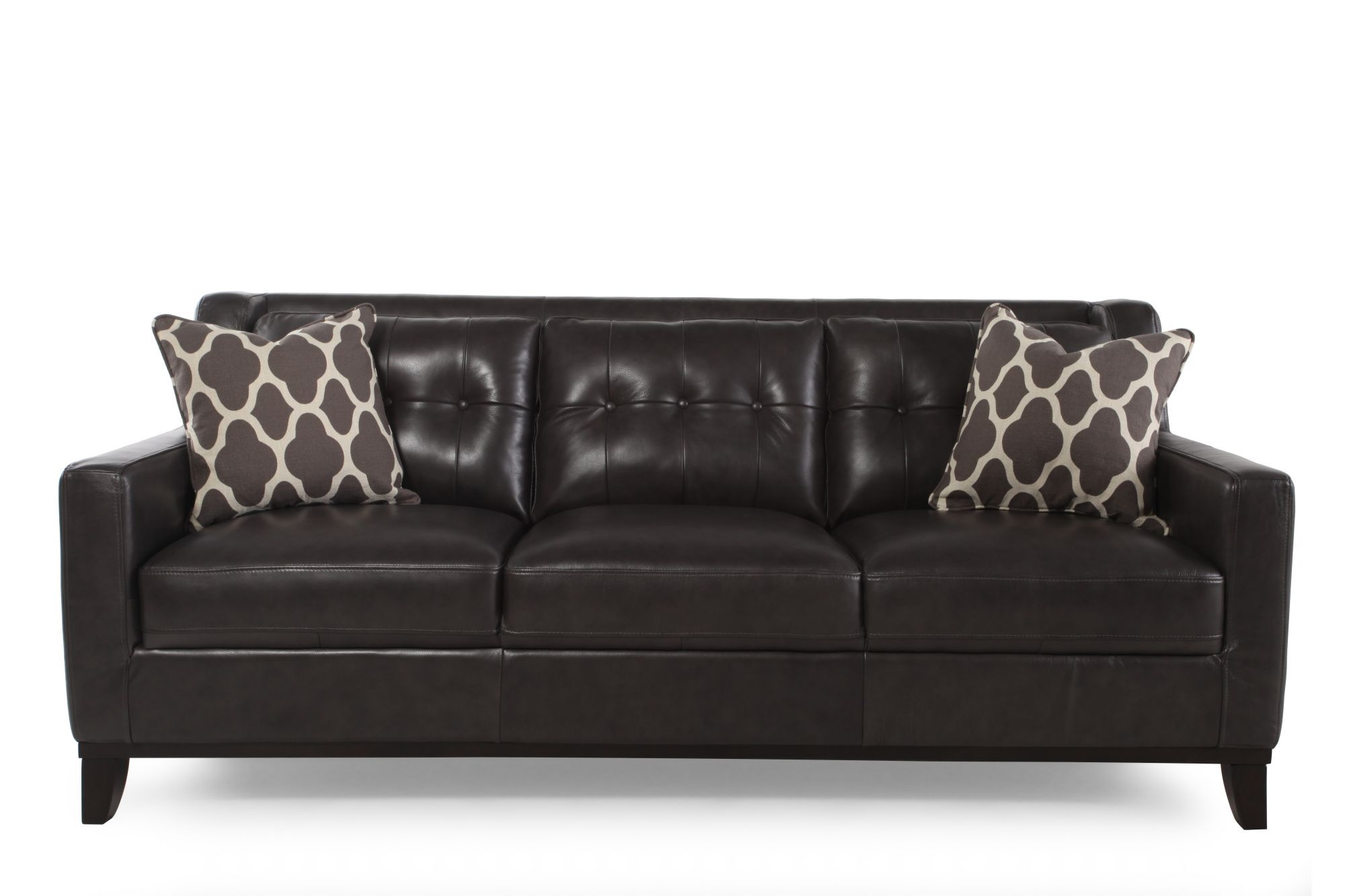 gray leather sofa images small designer bed boulevard grey mathis brothers furniture