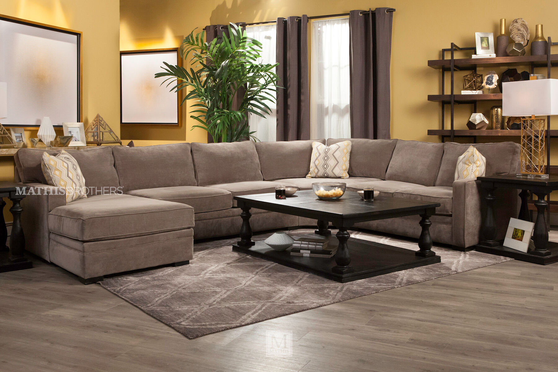 jonathan louis sofas loveseat sofa bed leather choices juno four-piece sectional | mathis ...