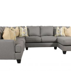 4 Piece Recliner Sectional Sofa Paula Deen Collection Ashley Mathis Brothers Furniture