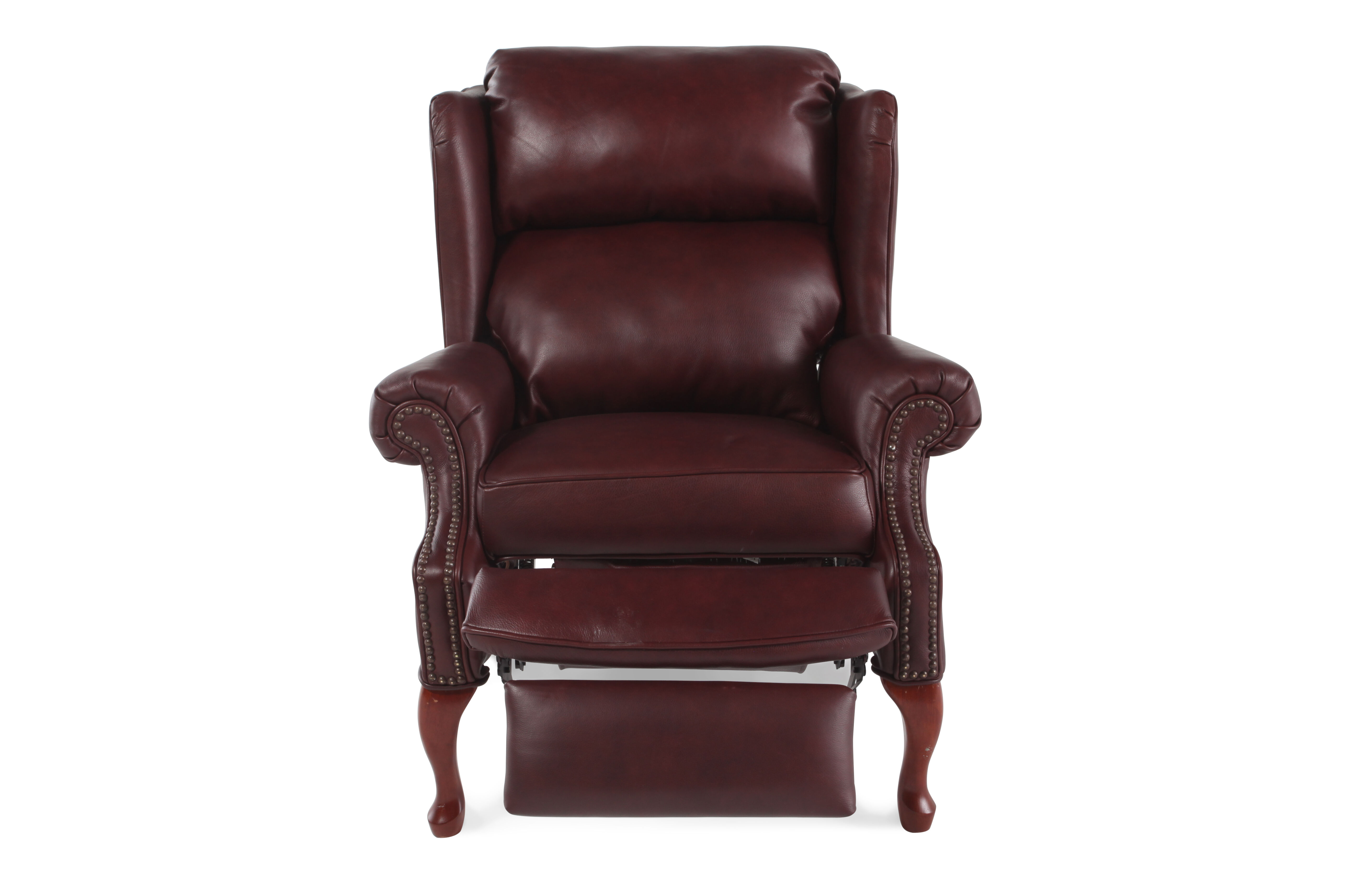 lane recliner chairs tan leather savannah mathis brothers furniture