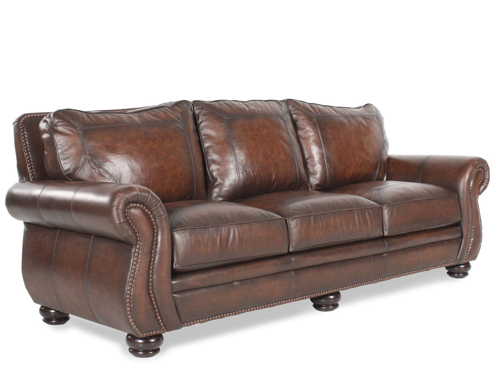 bernhardt leather sofa cushion replacement indoor outdoor sleeper breckenridge hemispheres furniture