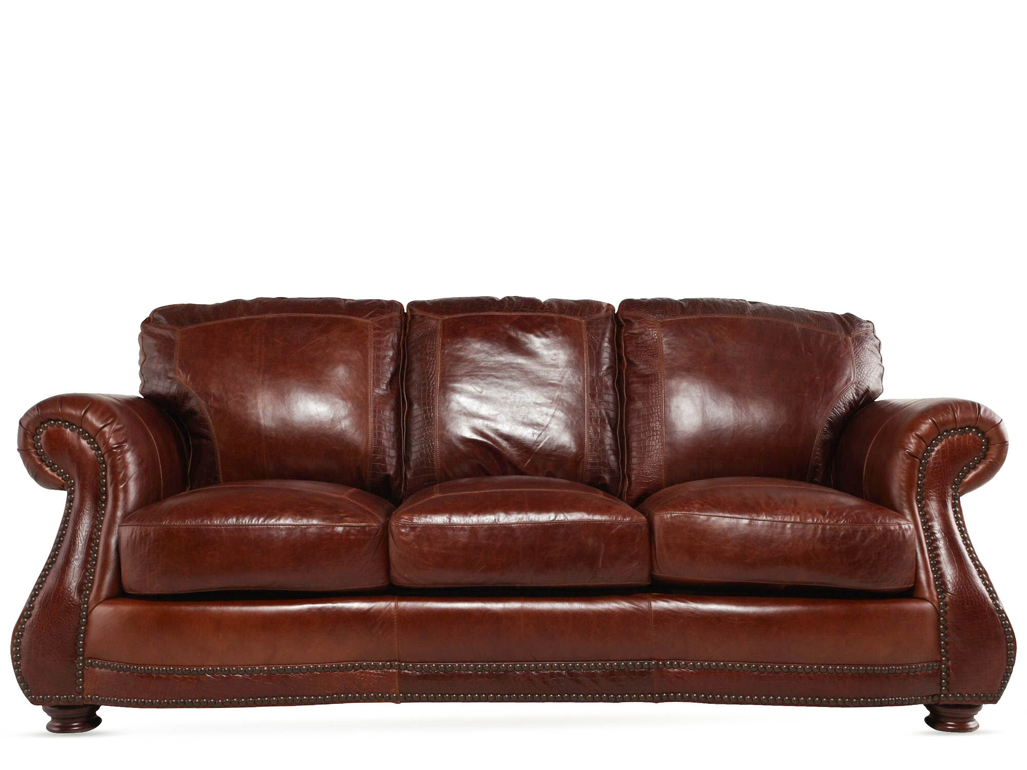 leather sofa couch pull out mattress replacement usa brandy mathis brothers furniture