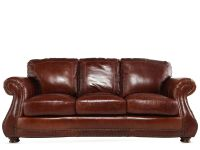 USA Leather Brandy Sofa | Mathis Brothers Furniture