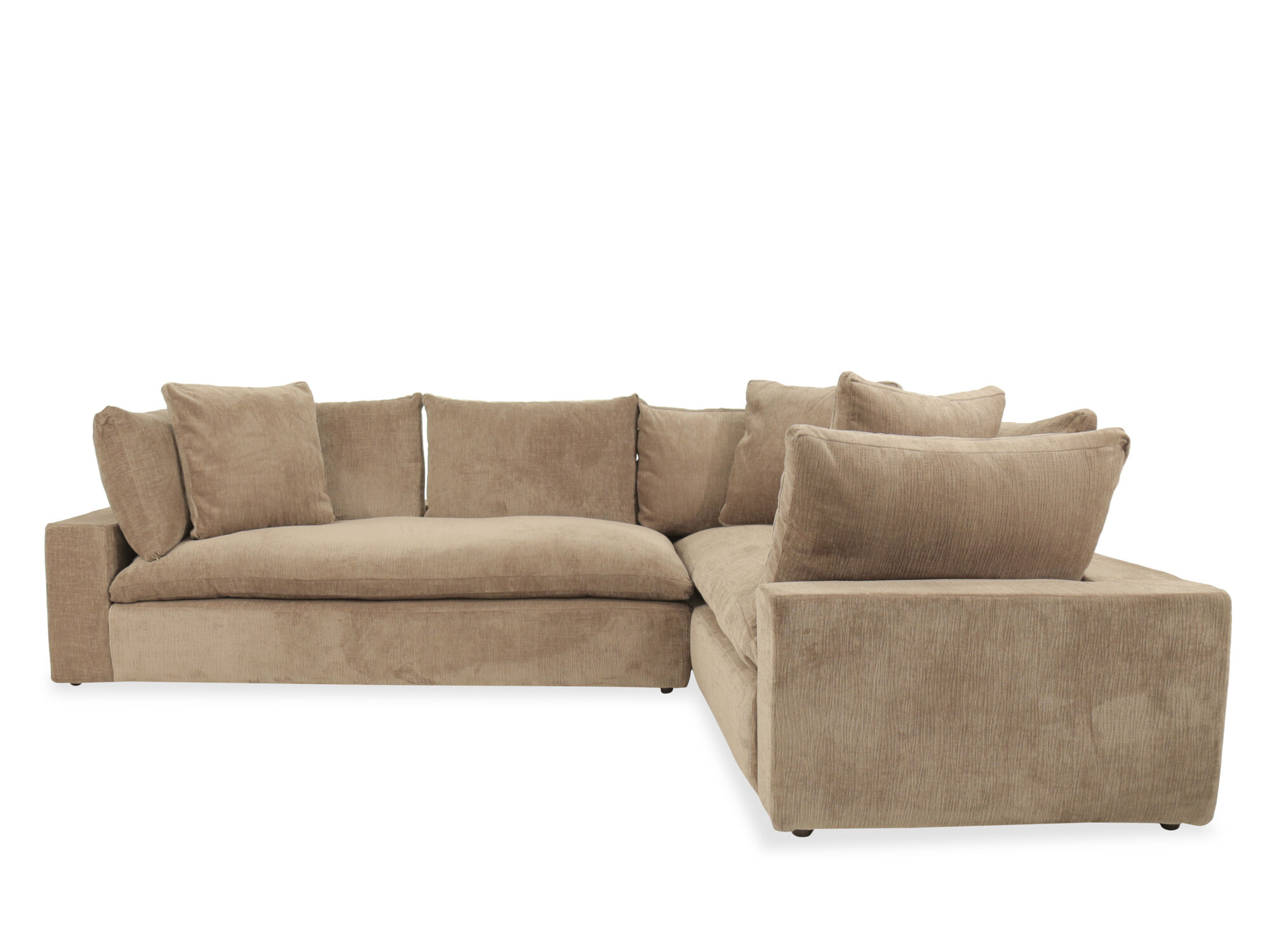 michael nicholas aspen sofa distressed table with storage serenity two piece sectional mathis