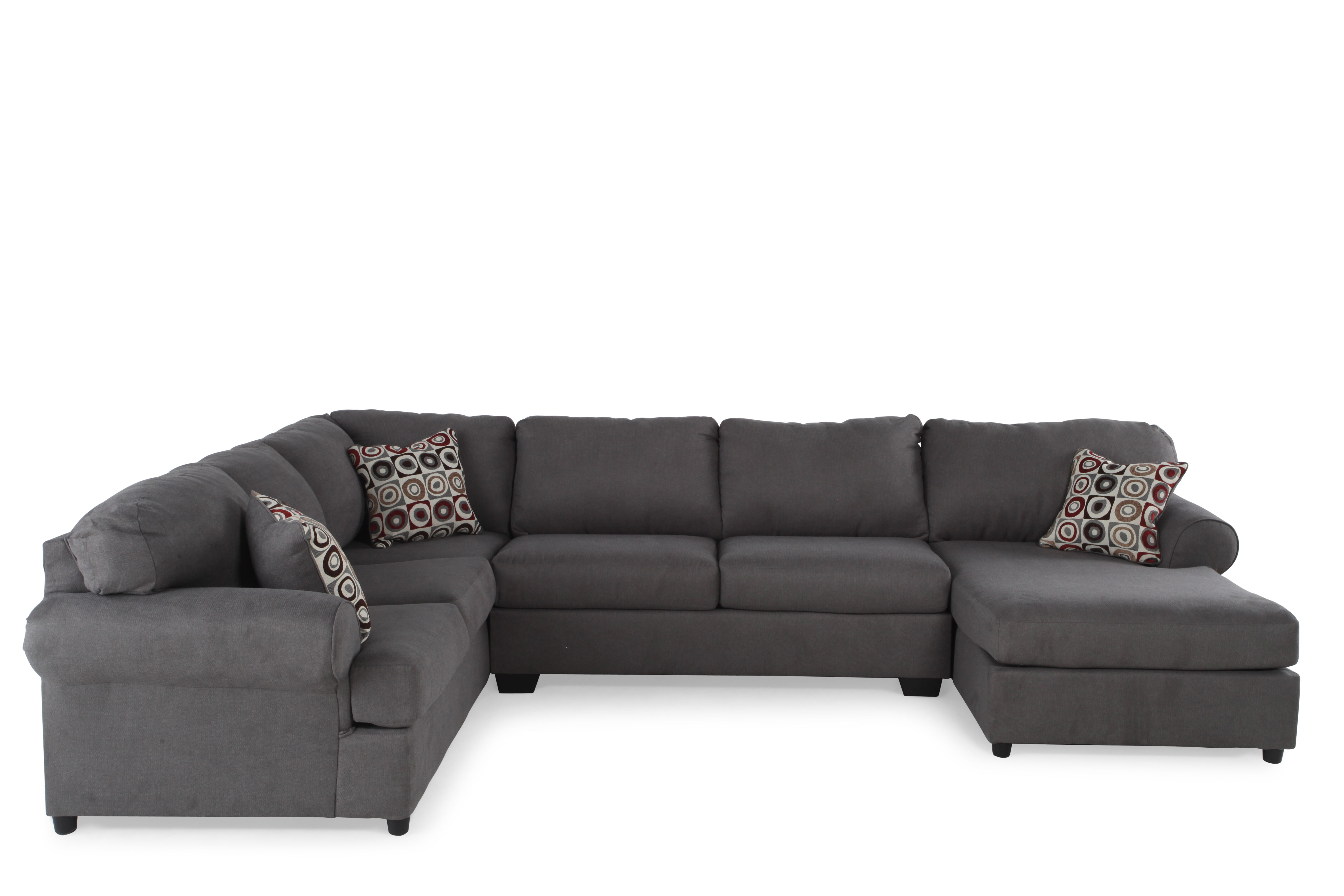 Ashley Jayceon Three Piece Sectional Mathis Brothers