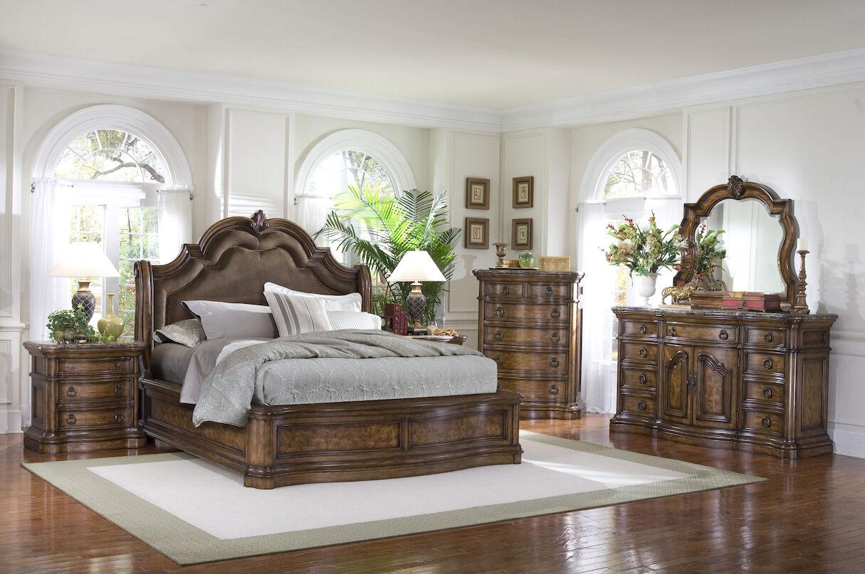 Pulaski San Mateo Sleigh Bed  Mathis Brothers Furniture