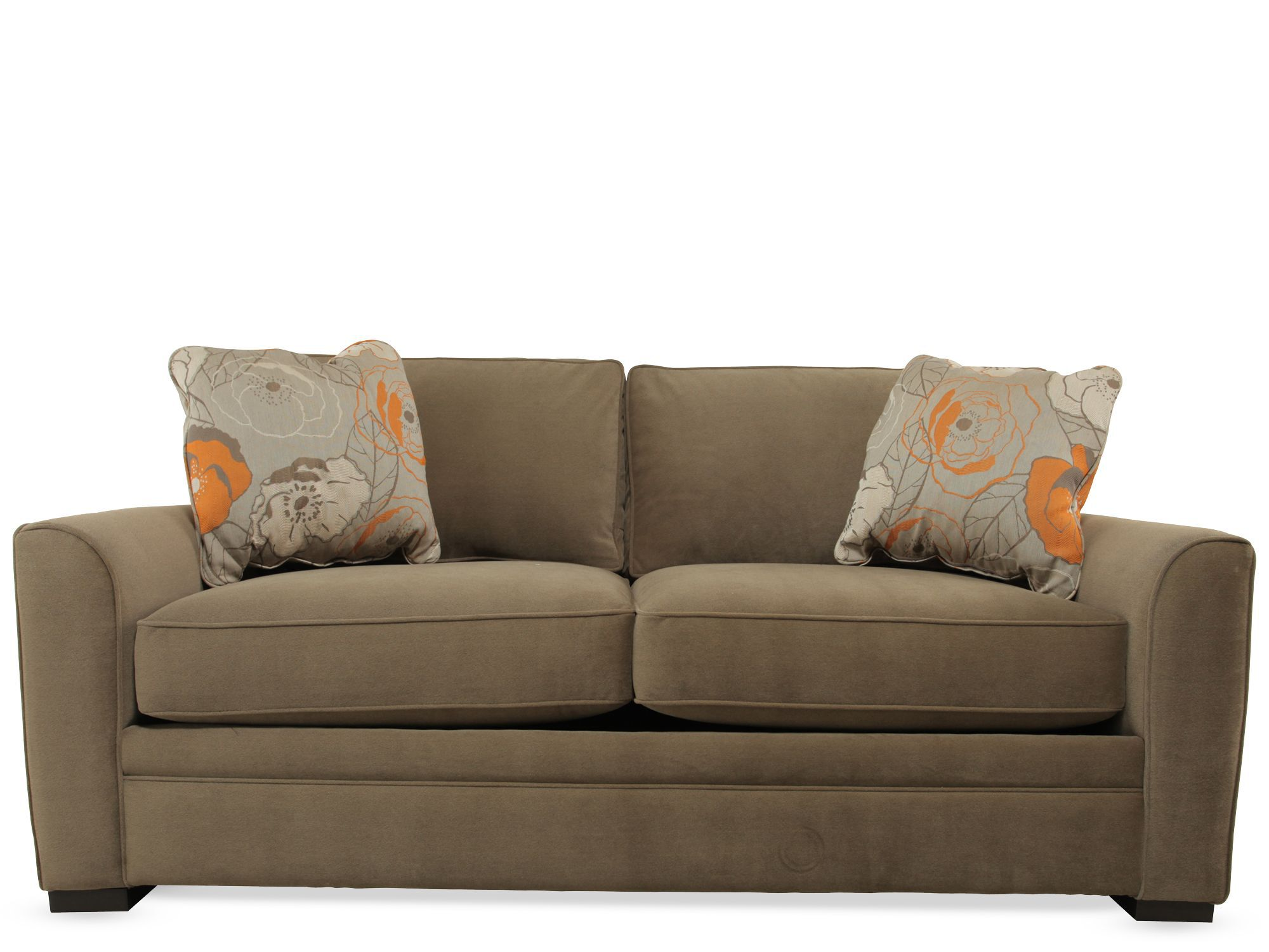 jonathan louis sofa bed fabric and leather dfs full sleeper with air mattress