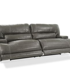 Grey Power Reclining Sofa Circle Design Ashley Mccaskill Gray Mathis
