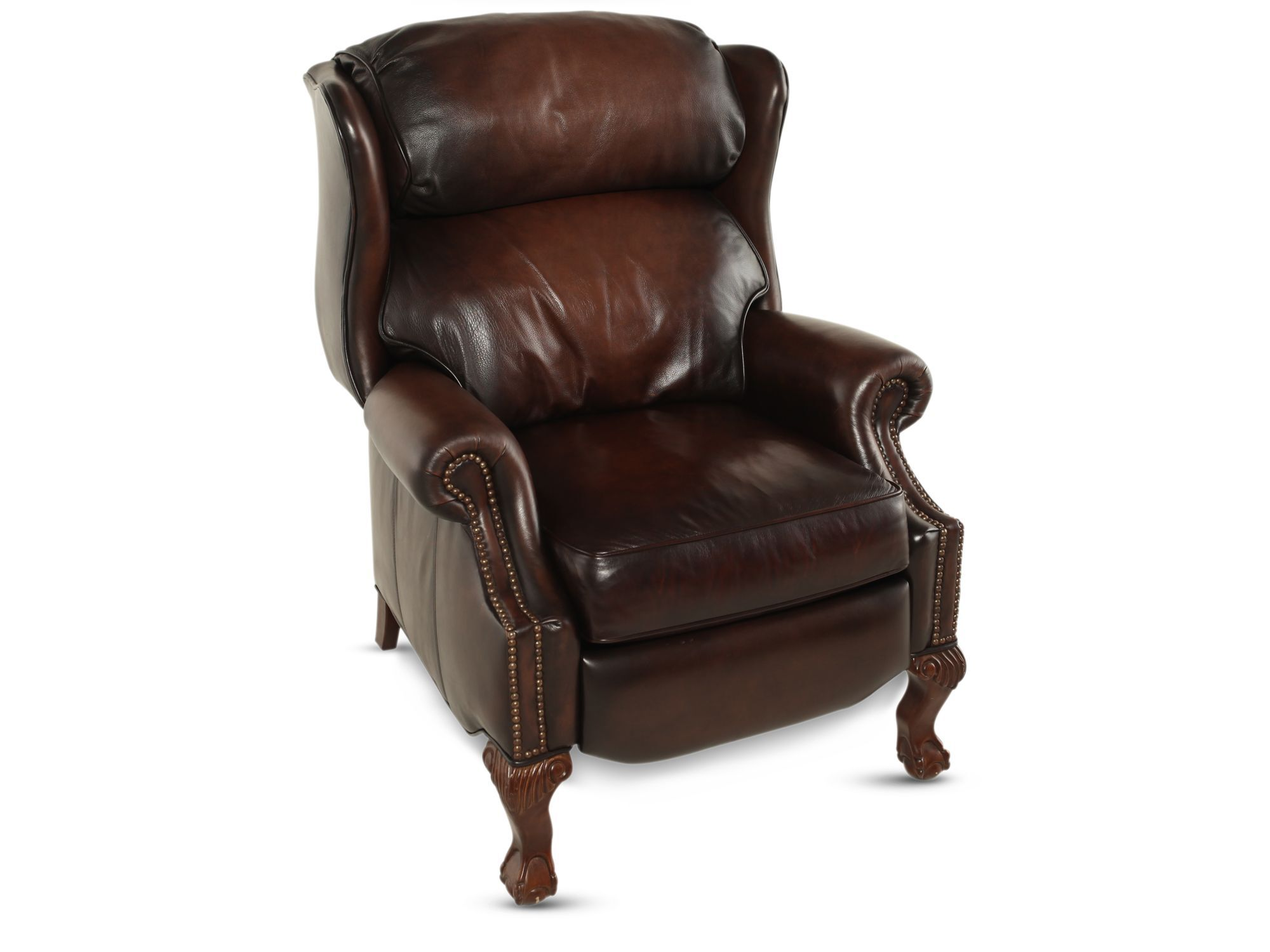Bernhardt Leather Chair Bernhardt Briggs Leather Recliner Mathis Brothers Furniture