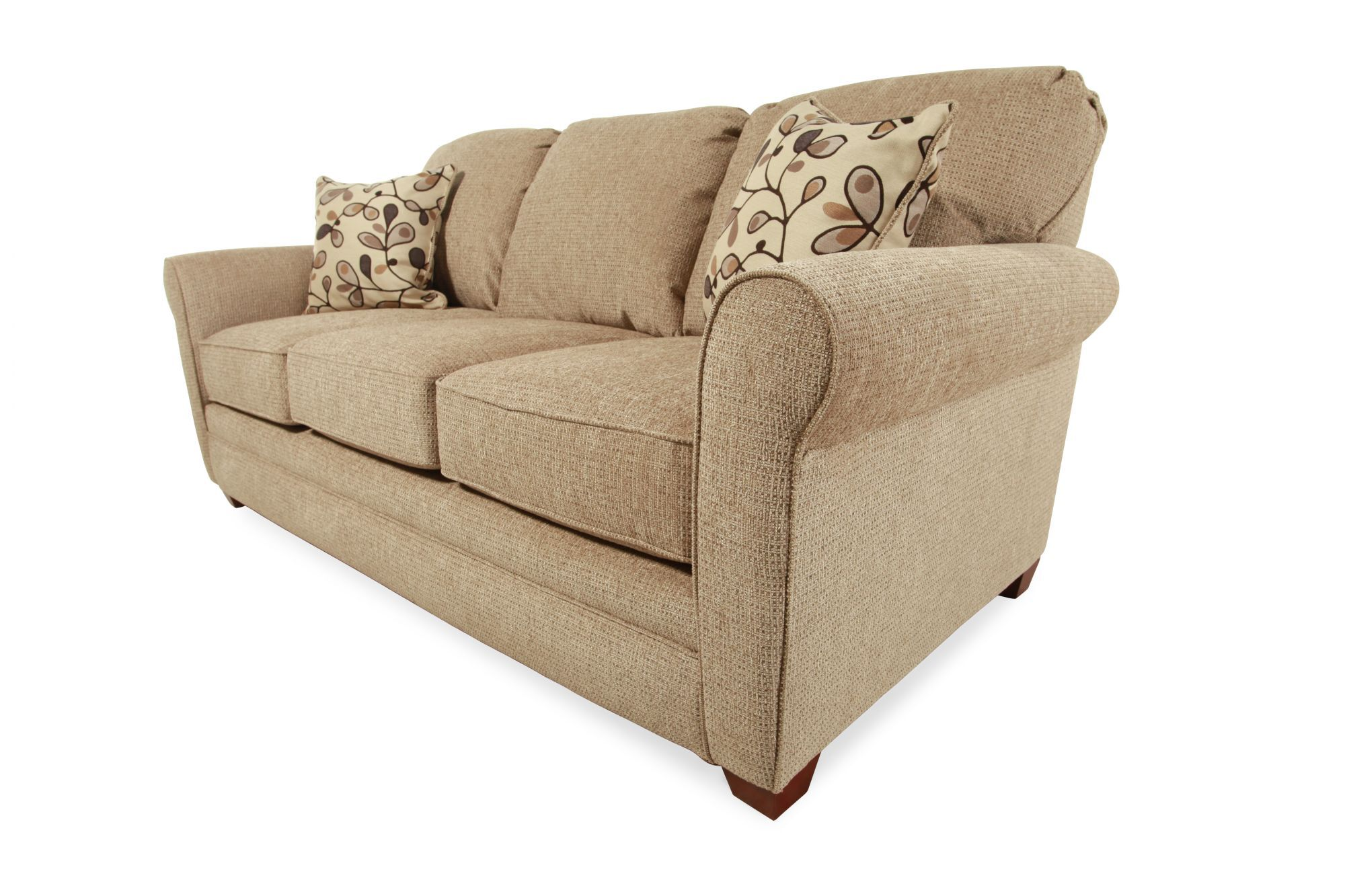 lane sleeper sofa queen next toulouse leather reviews sunburst linen i rest mathis brothers
