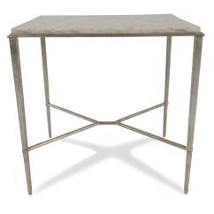 Michael Nicholas Aspen Sofa White Crushed Velvet Corner Furniture Deals | Mathis Brothers