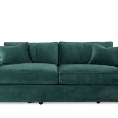 Jonathan Louis Sofas Modern Leather Sofa Chrome Legs Morello Mathis Brothers Furniture