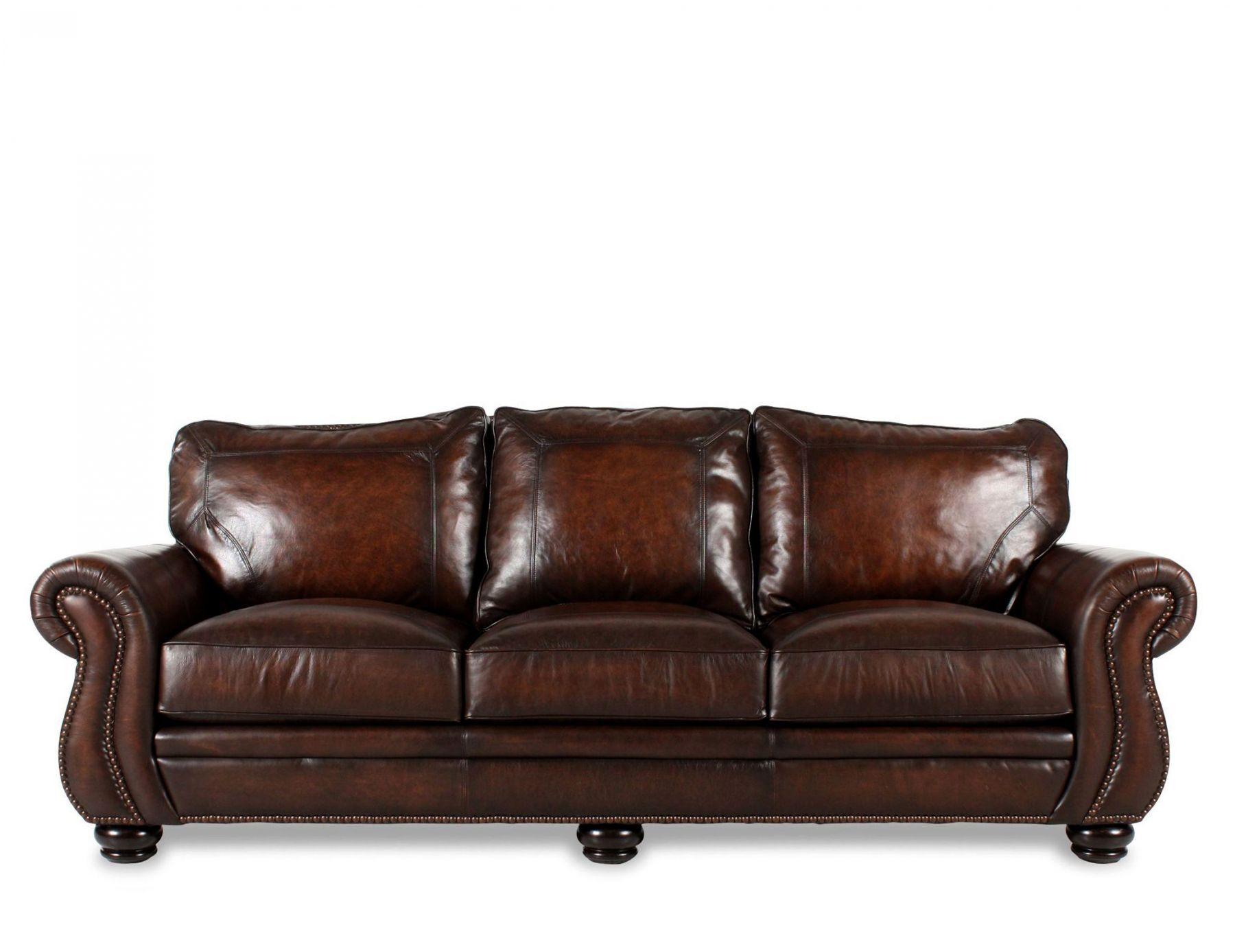 bernhardt breckenridge sofa chesterfield antique leather mathis brothers