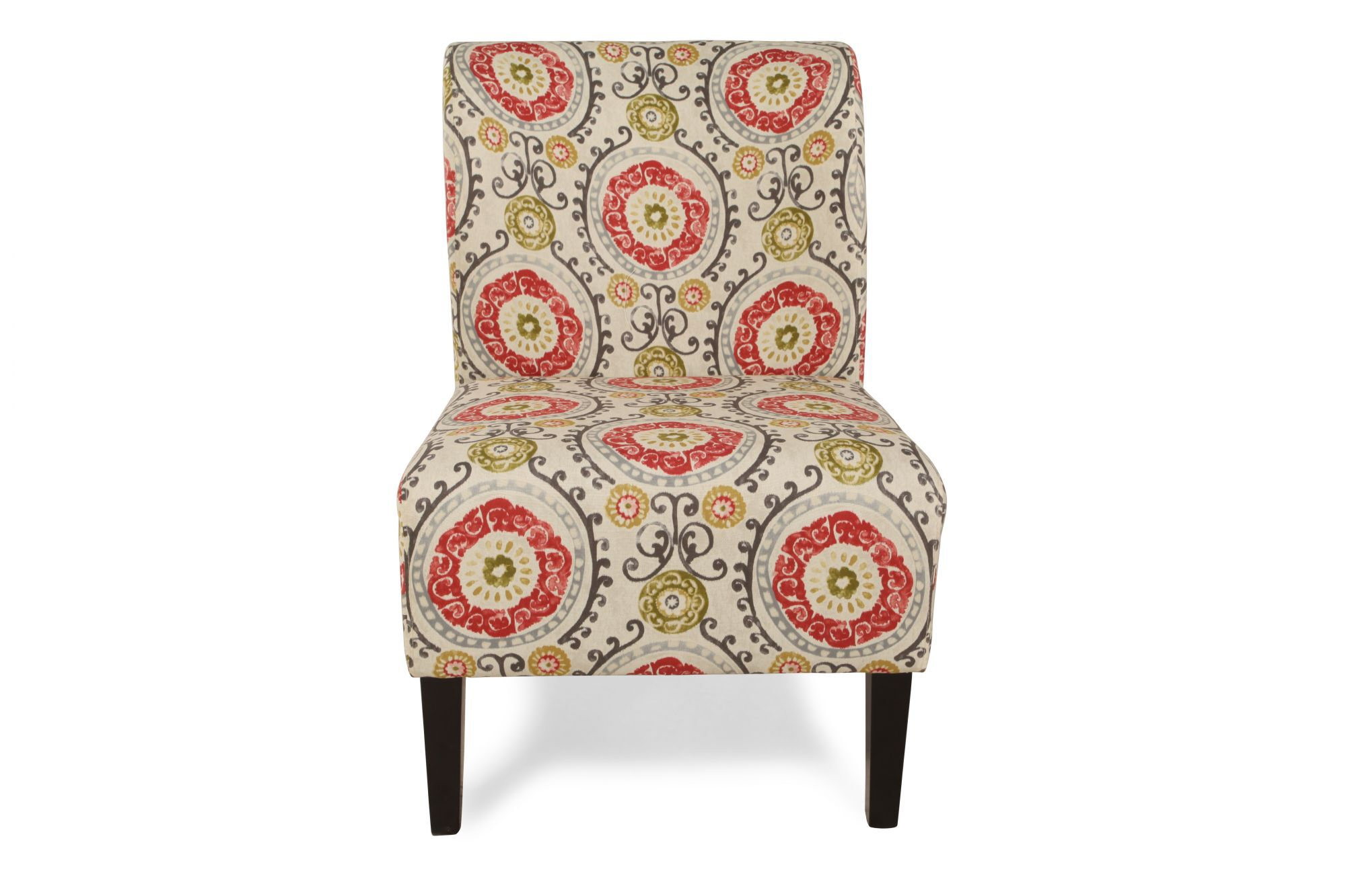 Floral Chairs Ashley Honnally Floral Accent Chair Mathis Brothers