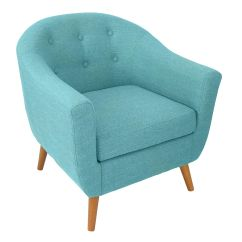 Teal Accent Chair Office Chairs For Tall People Rockwell At Home