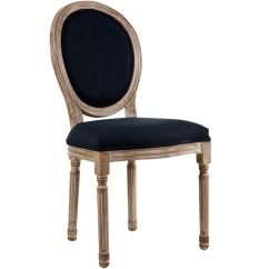 Louis Dining Chairs High Top Table Chair Height Reclaimed Navy At Home
