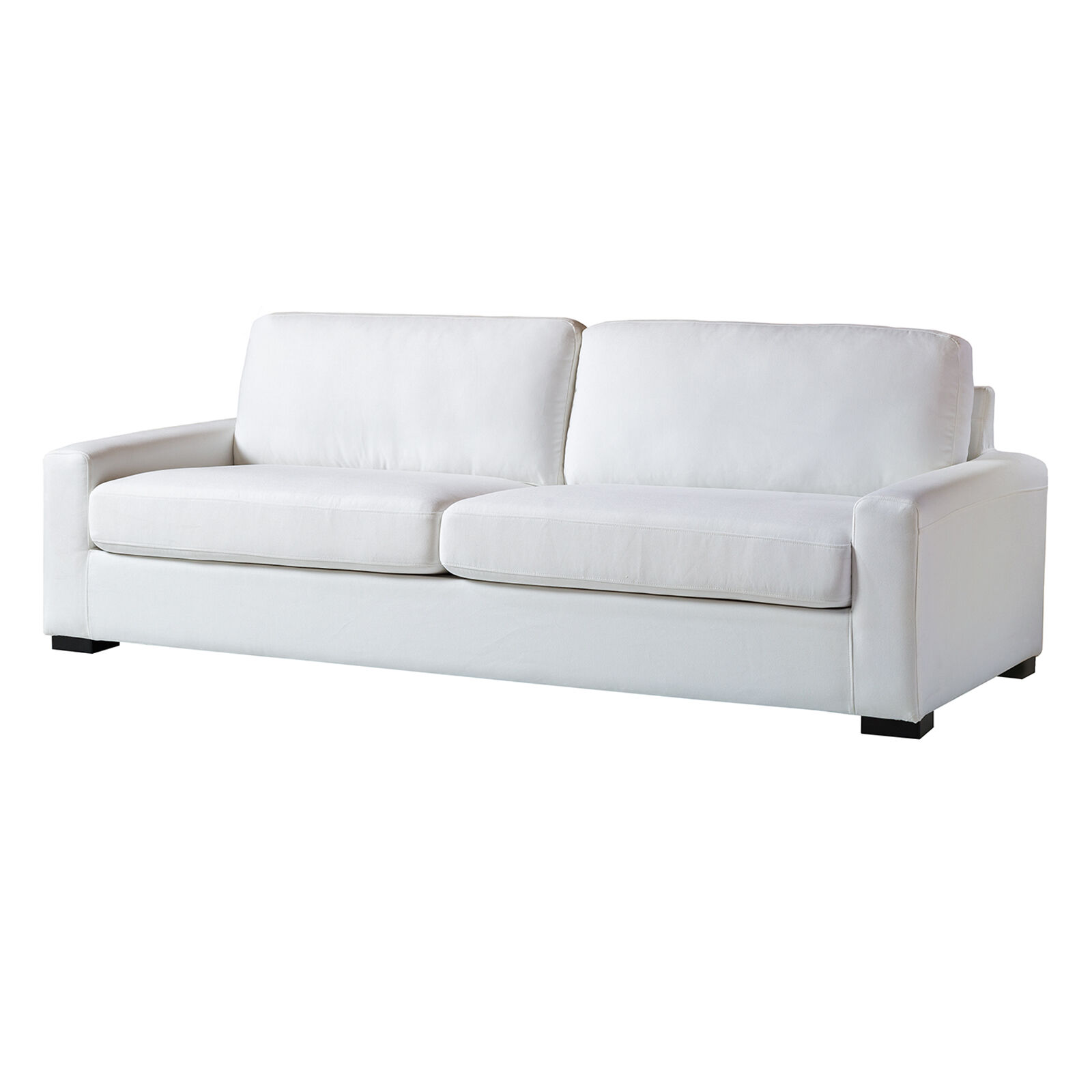 off white slipcover sofa table furniture malone at home