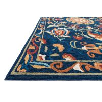 A276 Layla Medallion Blue Rug- 8x10 ft - At Home