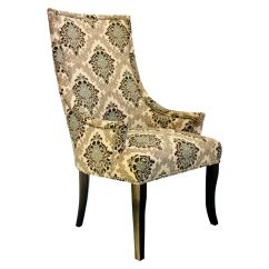 Damask Accent Chair Rattan Hanging Egg Nz Chatham At Home