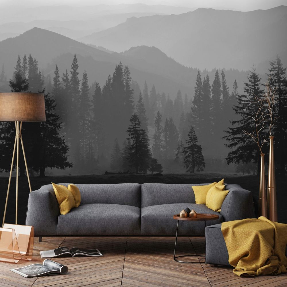 Misty Mountains Mural - Grahambrownrow