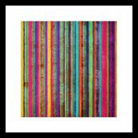 Neon Stripe Wall Art - GrahamBrownUK
