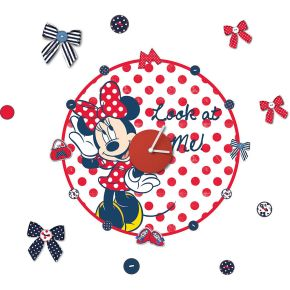Minnie Mouse Clock Sticker