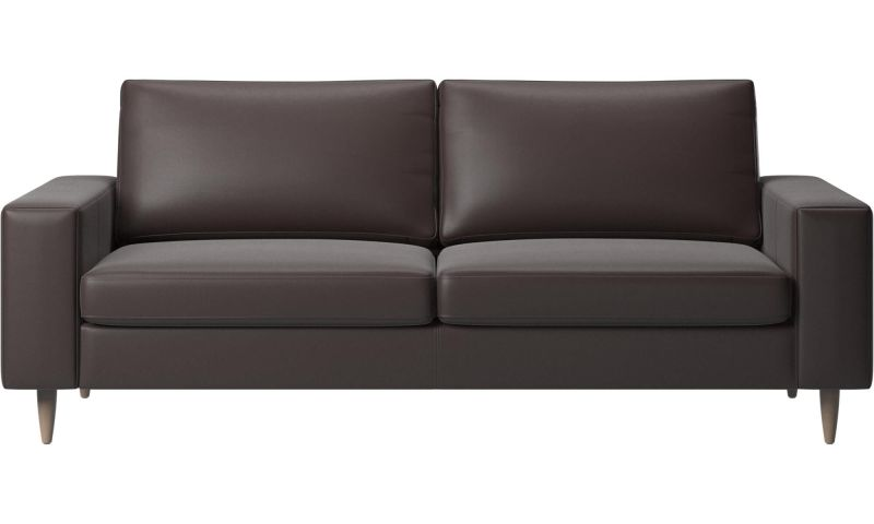 2 5 Seater Sofas Indivi Sofa Brown Leather