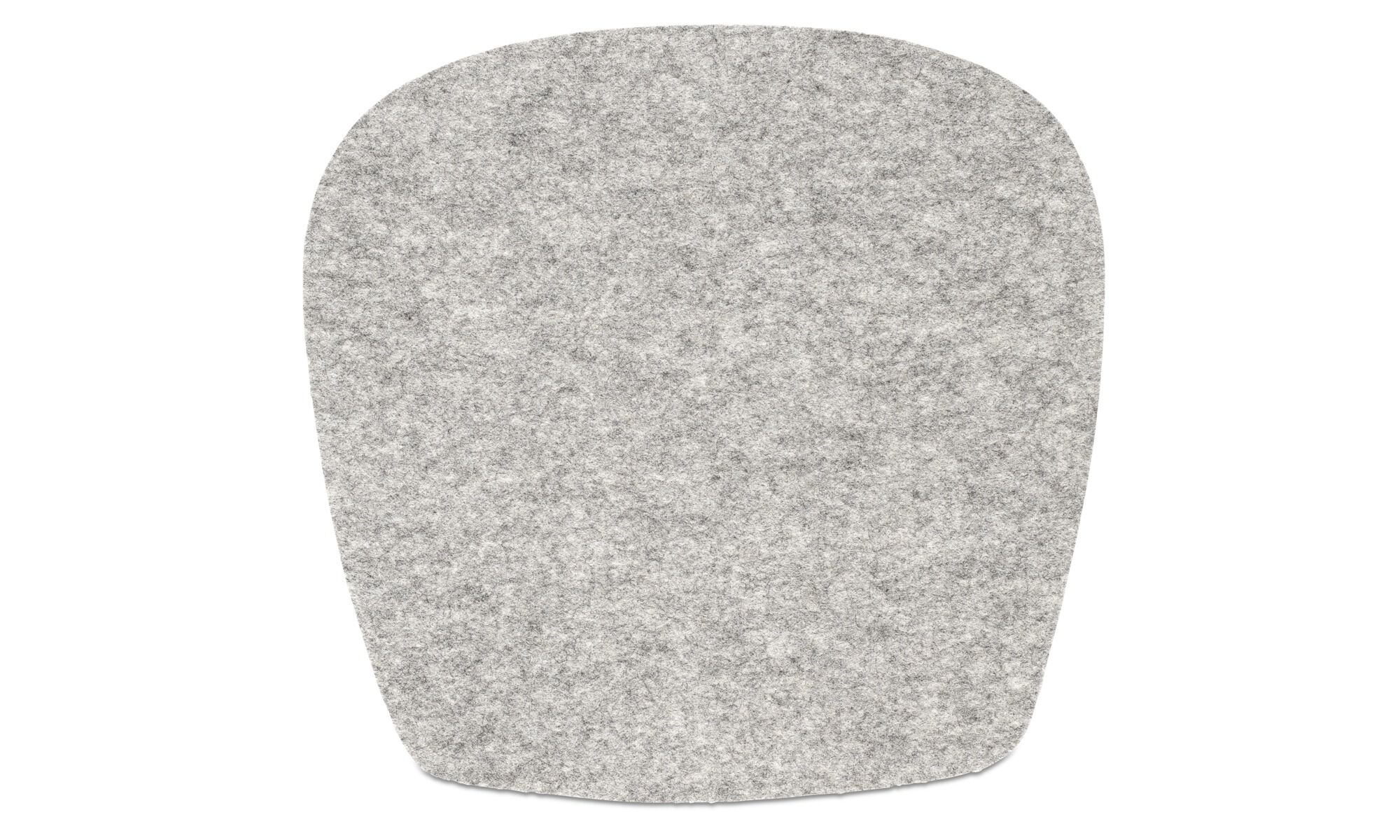 grey chair cushions for high desk modern seat contemporary design boconcept morgan cushion gray fabric