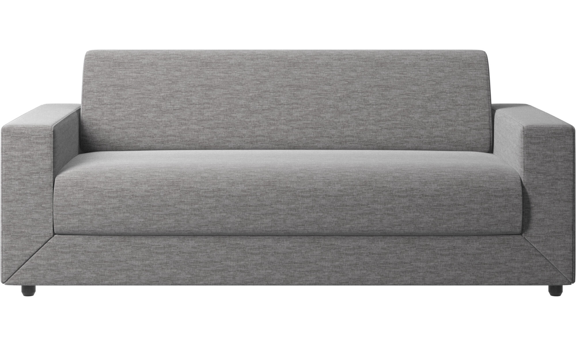 chair beds for adults round loveseat sofa quality from boconcept stockholm bed gray fabric