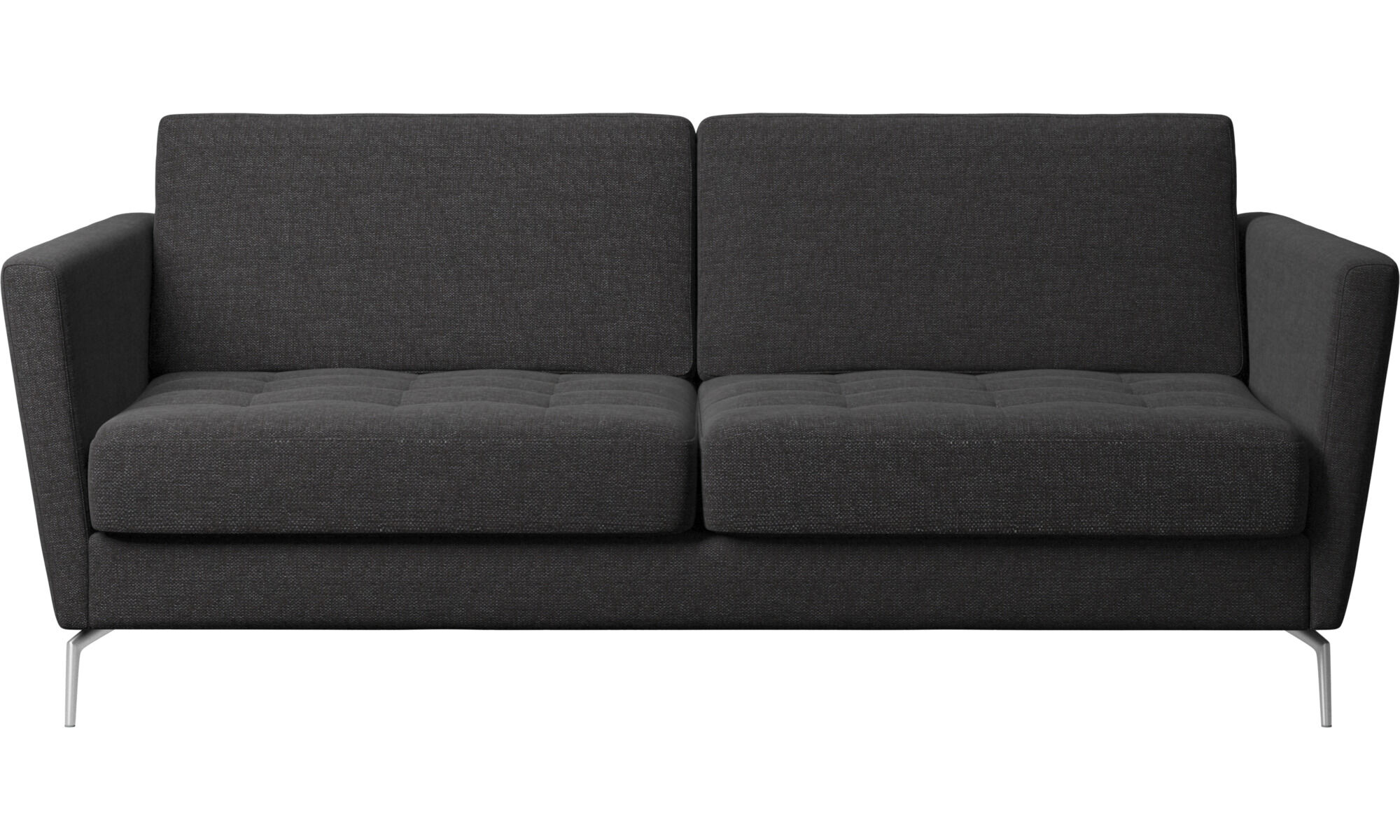 boconcept sleeper sofa review 78 inch beds quality from osaka bed black fabric