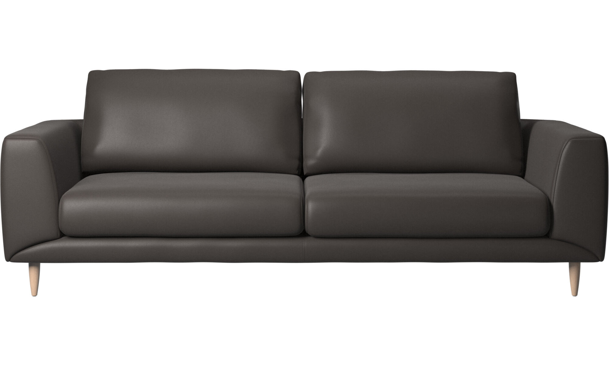 moods 3 seater leather sofa bed martha stewart saybridge review brown sofas from boconcept fargo