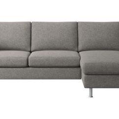 Gray Sofa With Chaise Lounge Cream Colored Leather Modern Longue Sofas Quality From Boconcept Indivi Resting Unit Fabric