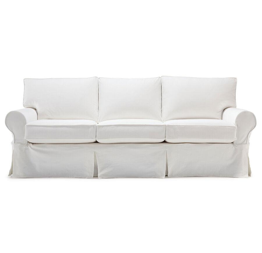 gold chair covers on sale ethan allen giselle alexa ii slipcover sofa