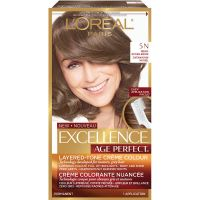 L'Oreal Excellence Age Perfect Permanent Hair Colour - 5N ...