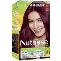 Garnier Nutrisse Cream Permanent Hair Colour - 460 Intense ...