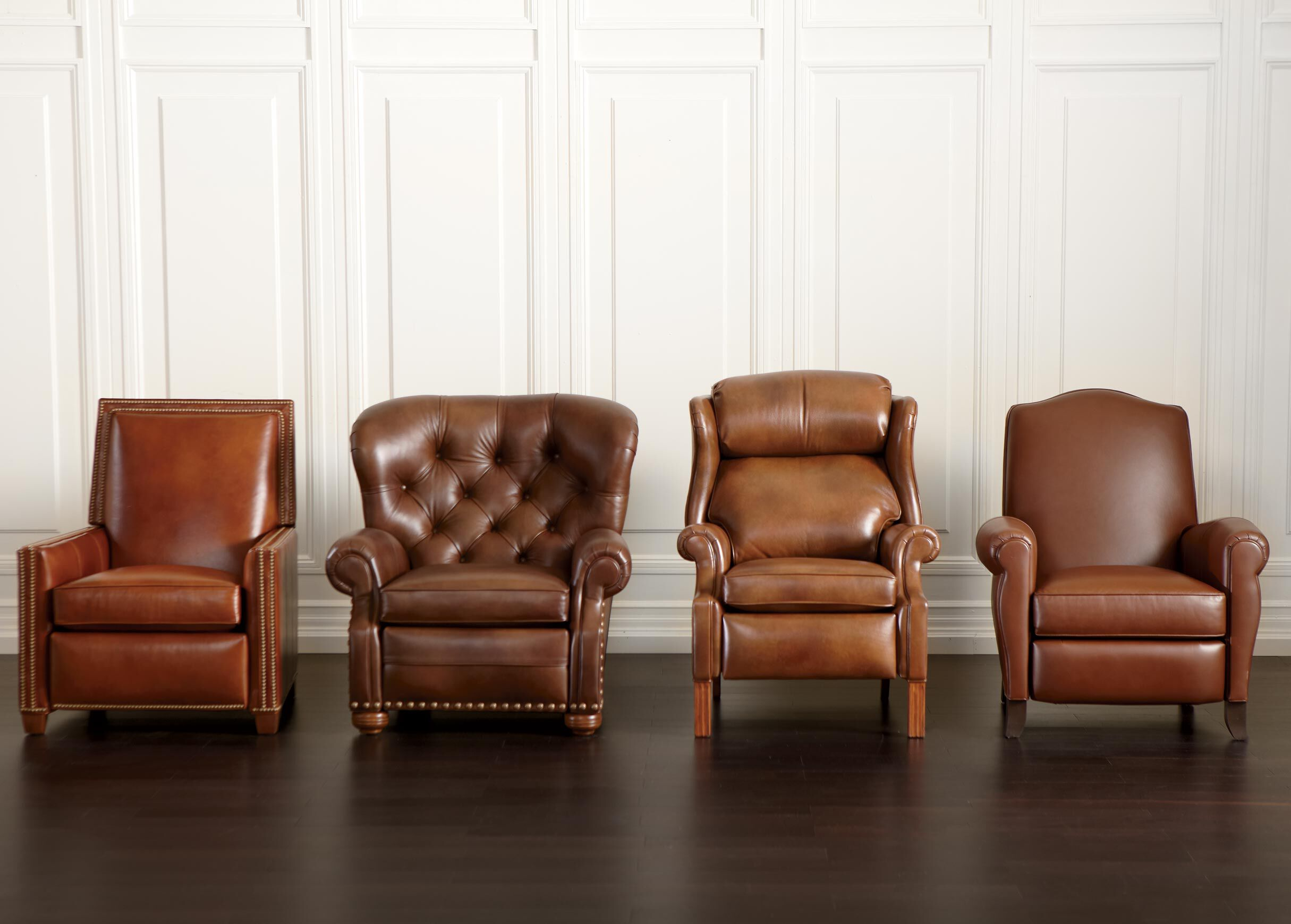 leather recliner chair heavy duty office randall recliners