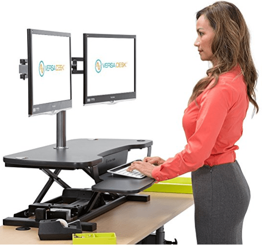 VersaDesk Power Pro Desk Converter Review  SitStand Desk