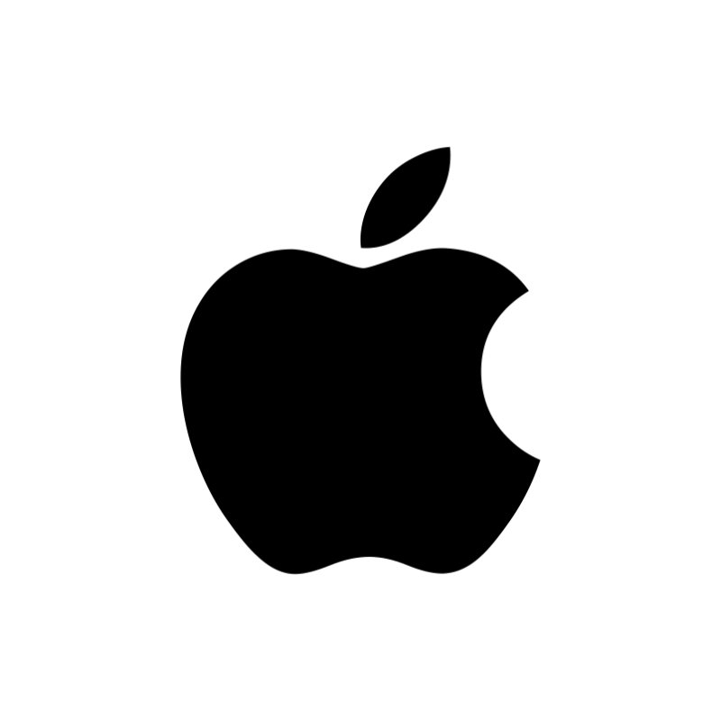 Symbolische Beeldlogo apple