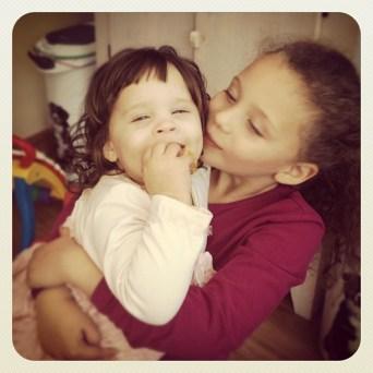 Eliana and Tallulah