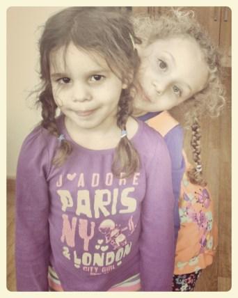Olivia and Eliana