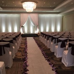 Chair Covers Rental Cleveland Ohio Recycled Plastic Adirondack Sitting Pretty Linens Specialty Backdrops Draping And More Sashes