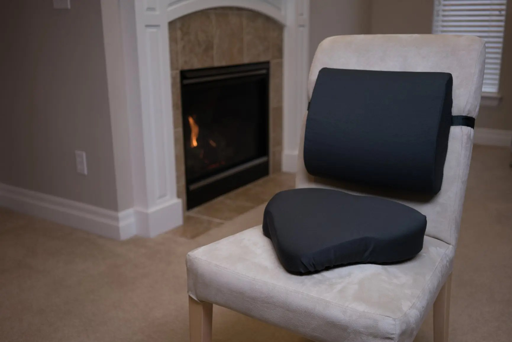 soft chairs spread the hips hanging high chair serene memory foam lumbar support pillow back pain relief