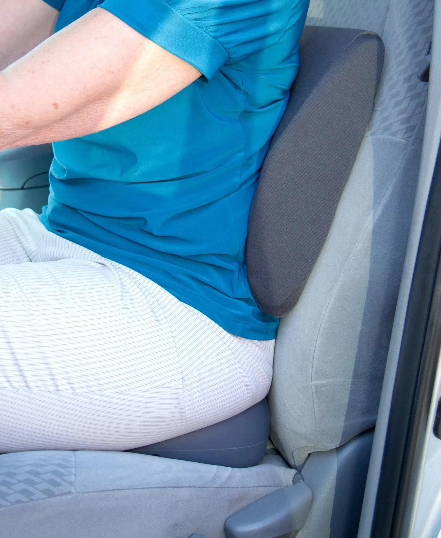 Serene Memory Foam Lumbar Support Pillow  Back Pain Relief