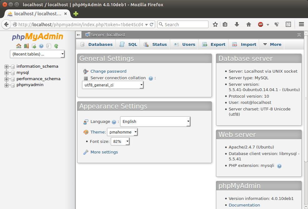 Install Lamp Dan Phpmyadmin Di Ubuntu 14 04 Situs Ali