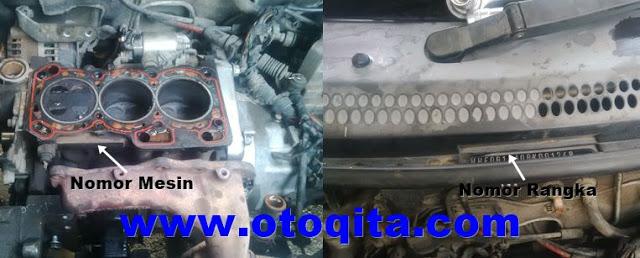 posisi nomor mesin grand new avanza harga headlamp veloz gambar dan letak rangka chery qq situs oto berikut adalah mobil dengan 3 silinder