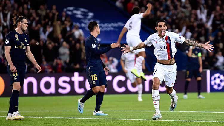 Striker Angel Di Maria Telah Menjadi Pahlawan Saat Laga PSG VS Real Madrid