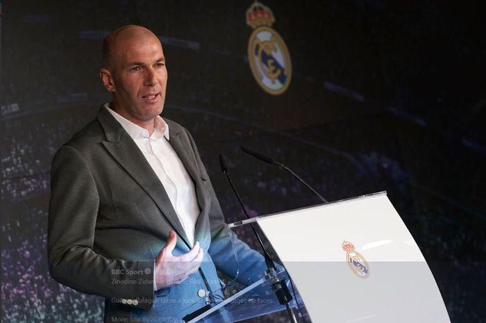 Berita Bola,Bursa Transfer Pemain,Real Madrid,Zinedine Zidane