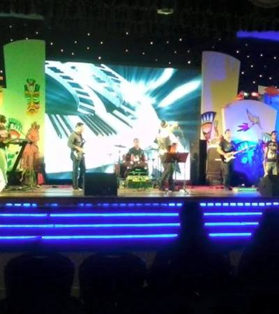 We played a Concert in Chittagong at last night